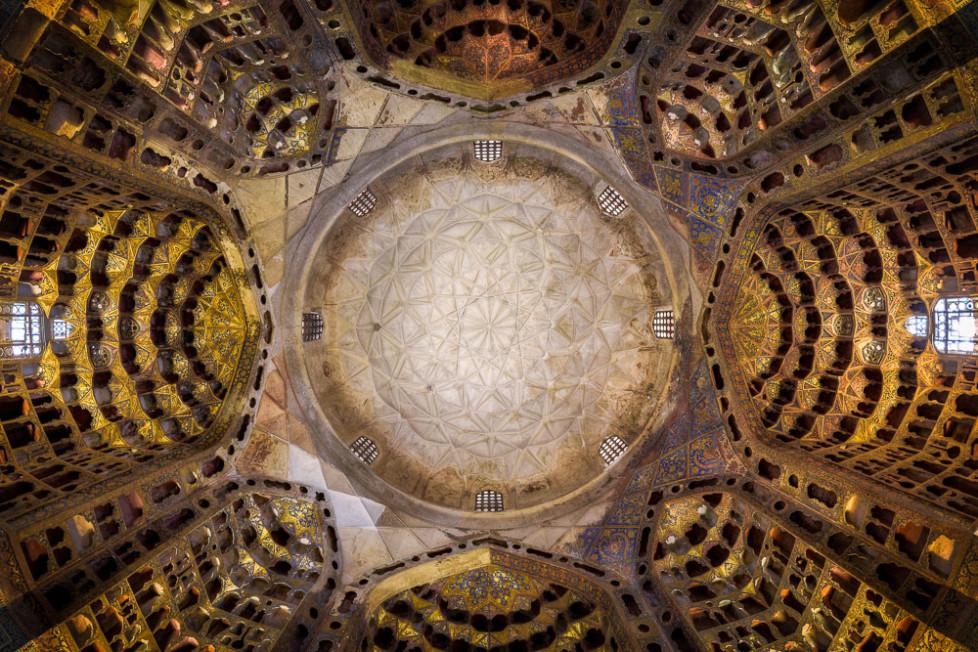 Ceiling of Sheikh safi o din, Ardebil