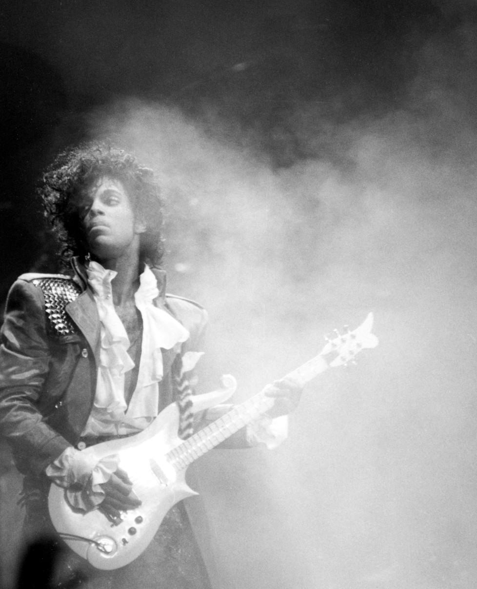 PRINCE Credit: Aaron/DALLE *** Local Caption *** Prince/Purple Rain Tour