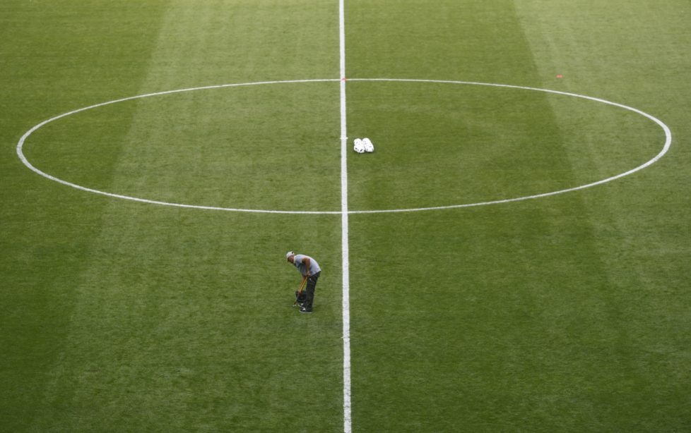 Football Soccer - France Training - Stade de France, Saint-Denis near Paris, France - 9/6/16 General view before training REUTERS/Christian Hartmann Livepic