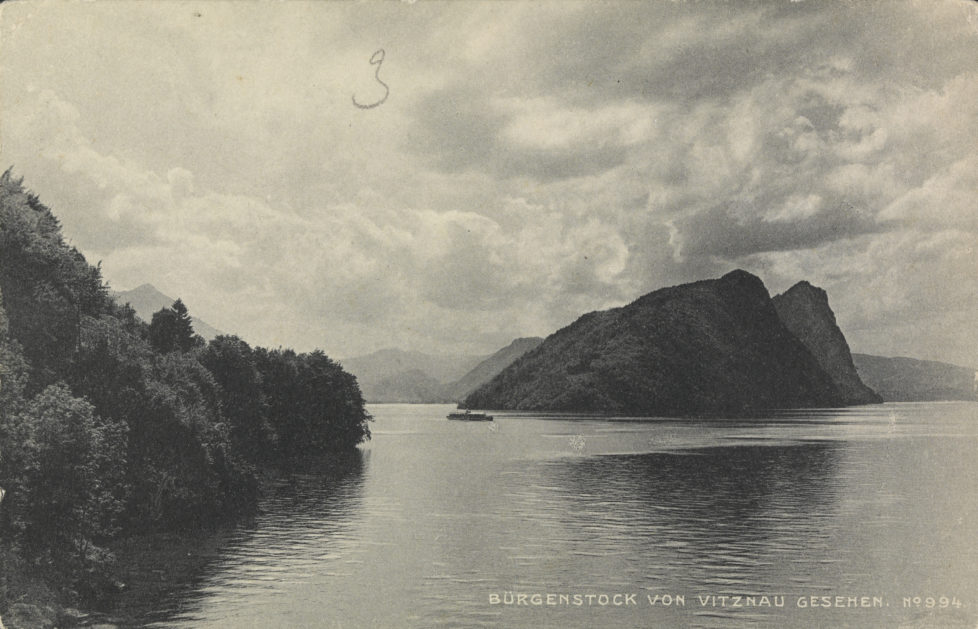 Bürgenstock von Vitznau gesehen