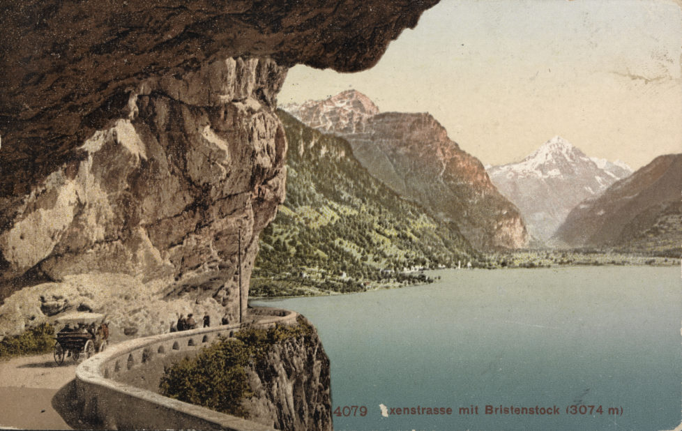 Poststempel 1.8.1915