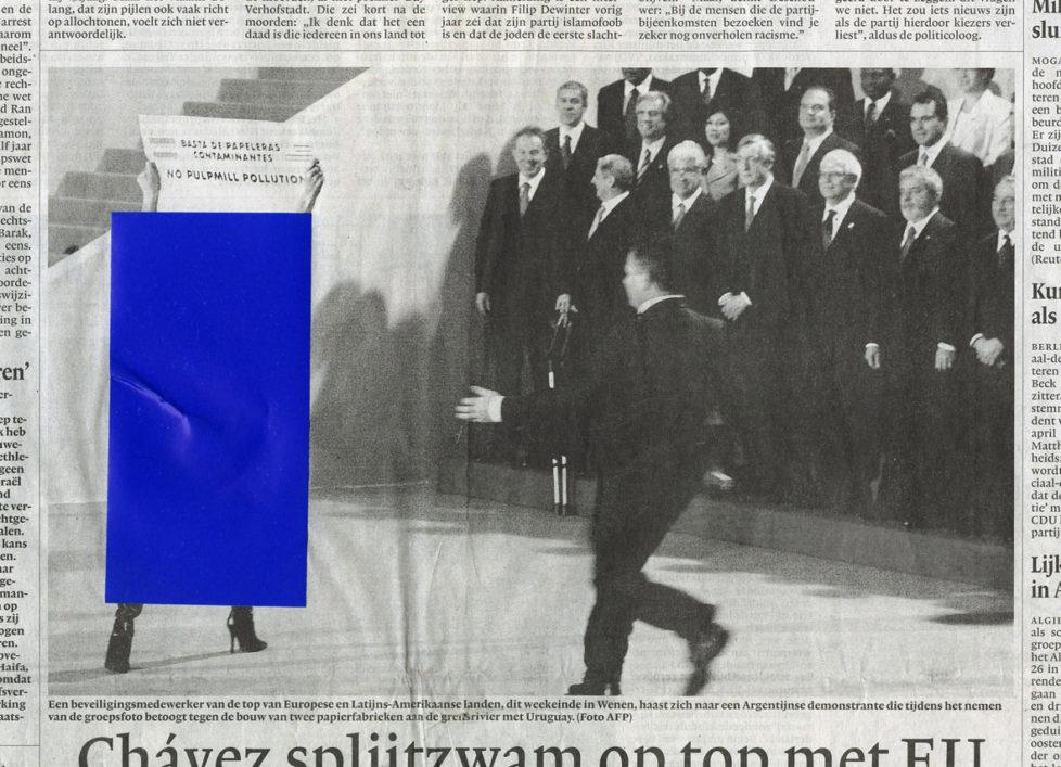 Nederland, Amsterdam, 26-09-2012 Uit de serie 'Censorship Daily' een selectie van het beste werk van de Iraanse censuurdienst. ©Jan-Dirk van der Burg