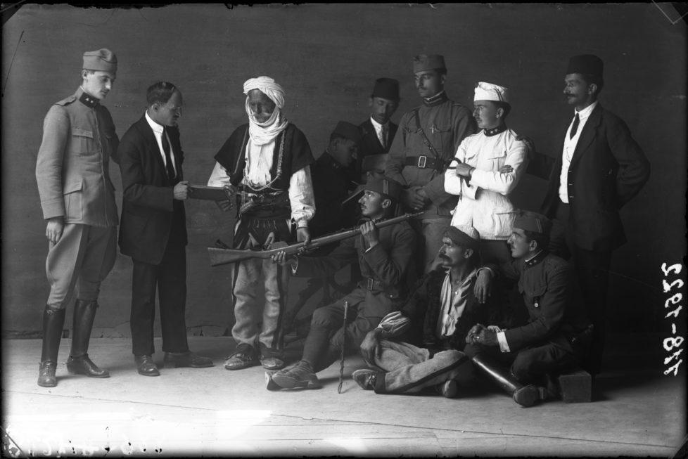 Surrender weapons, 1922 © Kel Marubi Courtesy Marubi National Museum of Photography, Shkodër