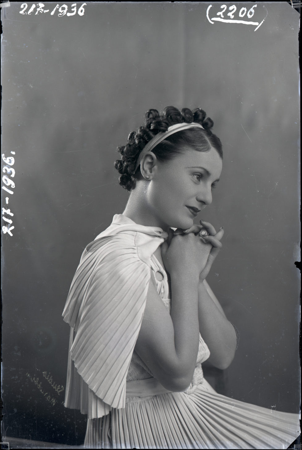 Tefta Tashko, 1936 C Geg+½ Marubi Courtesy Marubi National Museum of Photography, Shkod+½r.