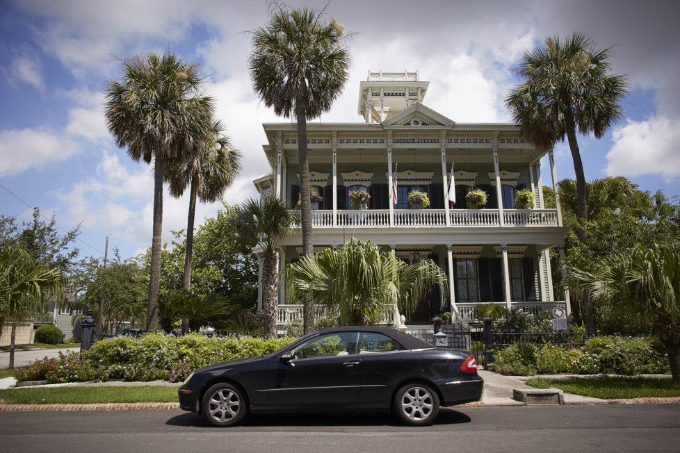 Galveston Texas USA, Viktorianisches Haus im Zentrum von Galveston. Foto: Moritz Hager