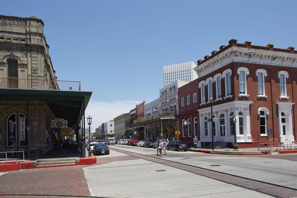 Galveston Texas USA, Die Altstadt von Galveston. Foto: Moritz Hager