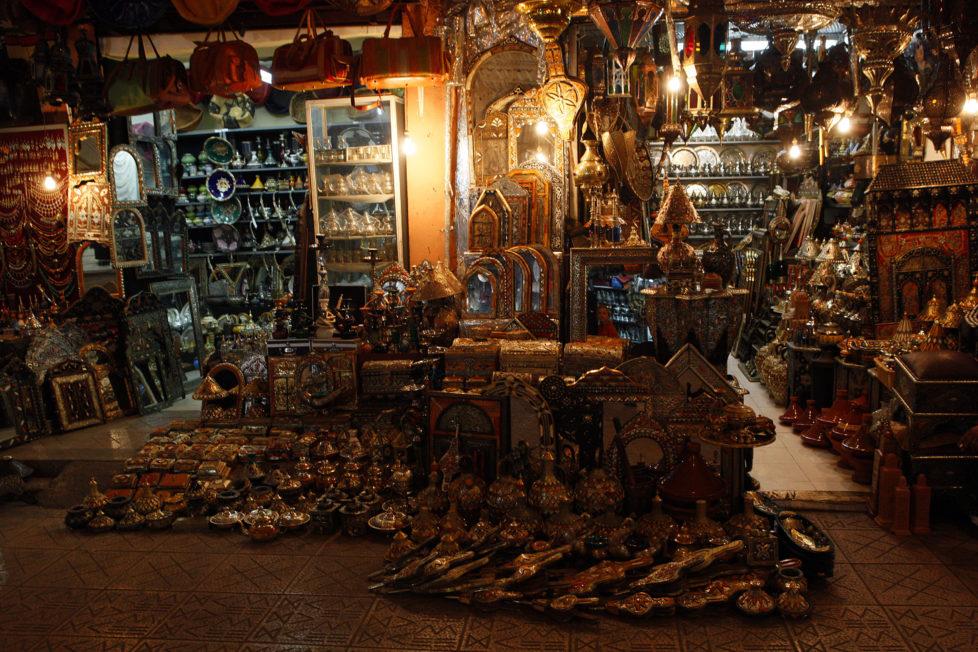 (GERMANY OUT) Morocco, Marrakech, medina, souk (Photo by Engelke/ullstein bild via Getty Images)