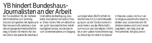Blick Habegger Pressefreiheit