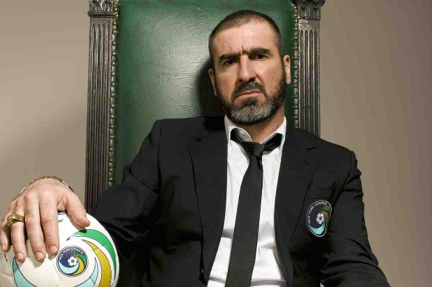 New York Cosmos photoshoot with Eric Cantona, Cobi, and Gio