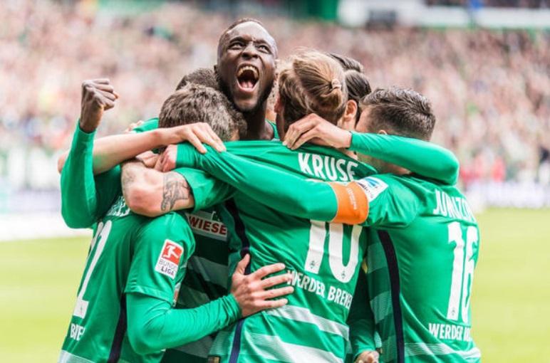 Werder nach Europa