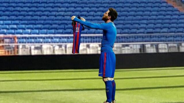 Messi im Bernabeu (2)
