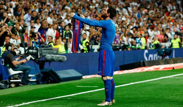 Messi im Bernabeu (1)