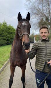 Kevin Doyle und ein Pferd