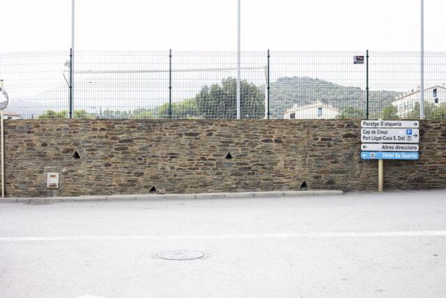 Nicht leicht zu finden: Das Stadion in Cadaqués.